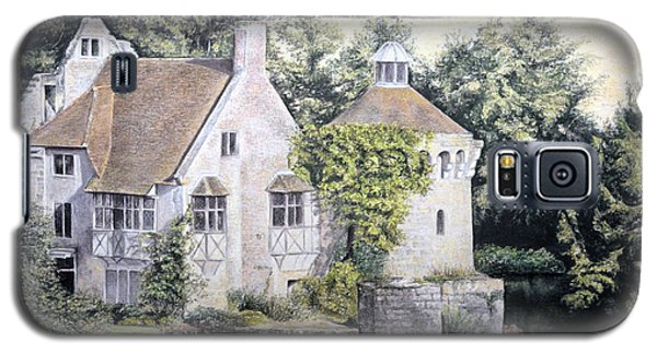 Galaxy S5 Case featuring the painting Scotney Castle by Rosemary Colyer