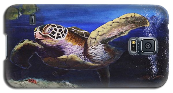 Sea Turtle Galaxy S5 Case