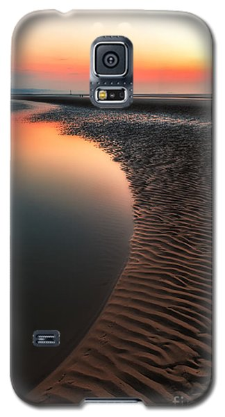 Seascape Sunset Galaxy S5 Case