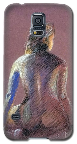 Seated Female Model Galaxy S5 Case