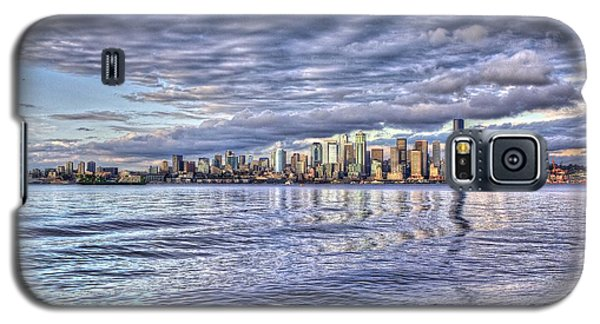 Seattle Skyline Cityscape Galaxy S5 Case