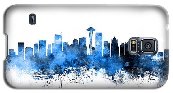 Seattle Washington Skyline Galaxy S5 Case