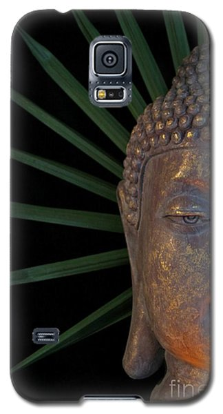 Galaxy S5 Case featuring the photograph Eyes Of Buddha by Dodie Ulery