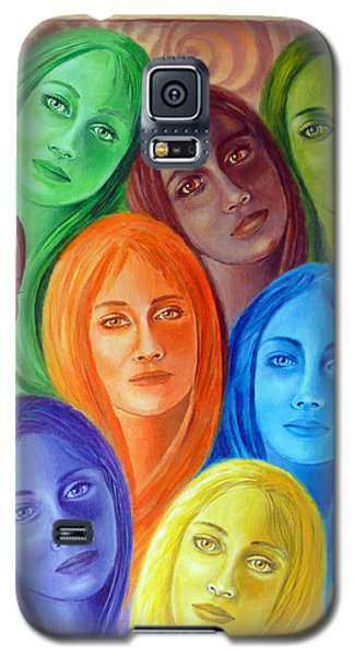 Serene Sisters Galaxy S5 Case by Sylvia Kula