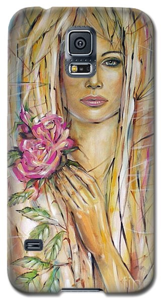 Silence Of Roses 020209 Galaxy S5 Case