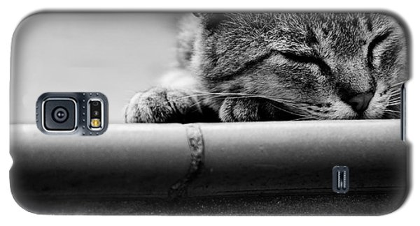 Galaxy S5 Case featuring the photograph Sleeping by Laura Melis