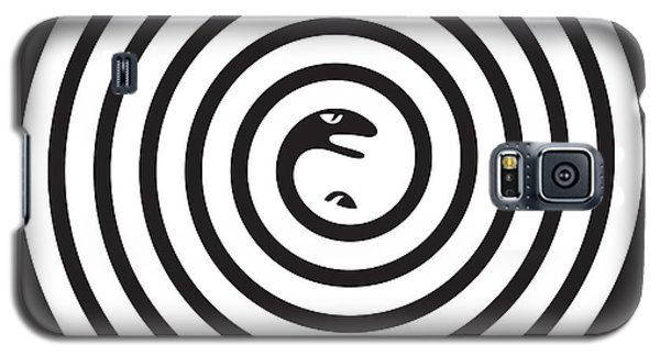 2 Snakes Illusion Galaxy S5 Case