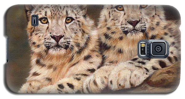 Snow Leopards Galaxy S5 Case