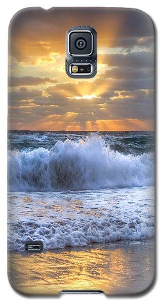 Splash Sunrise Galaxy S5 Case