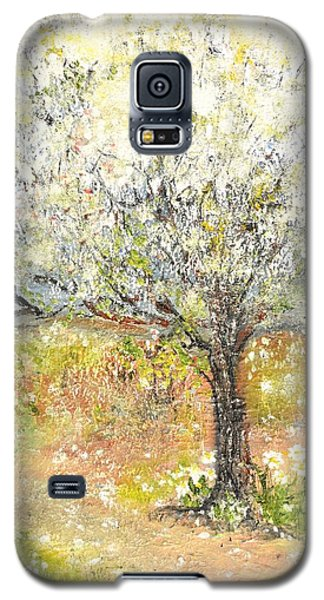 Galaxy S5 Case featuring the painting Spring by Evelina Popilian