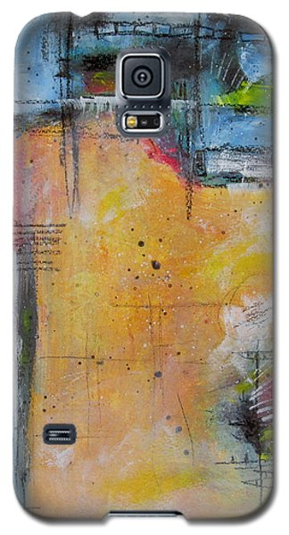 Galaxy S5 Case featuring the painting Spring by Nicole Nadeau