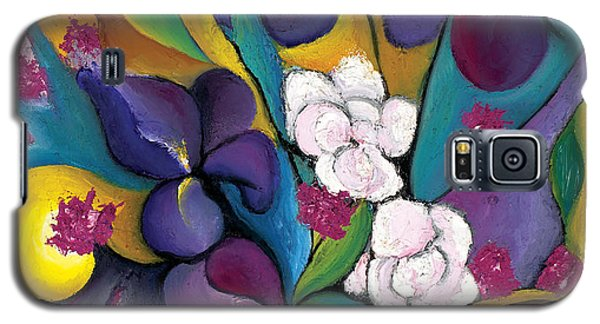 Galaxy S5 Case featuring the painting Spring Symphonia  by Tiffany Davis-Rustam