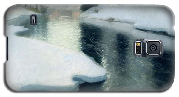 Ice Galaxy S5 Case - Spring Thaw by Fritz Thaulow