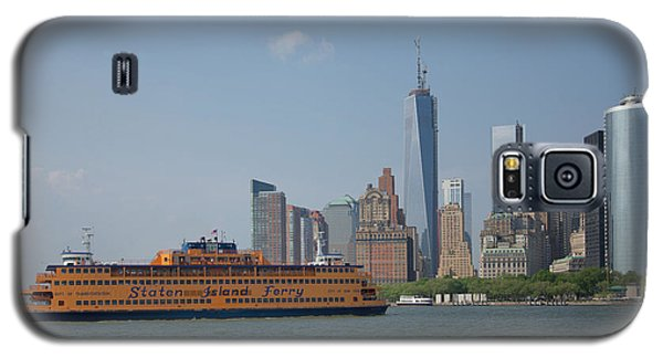 Staten Island Ferry Galaxy S5 Case by Carol Ailles