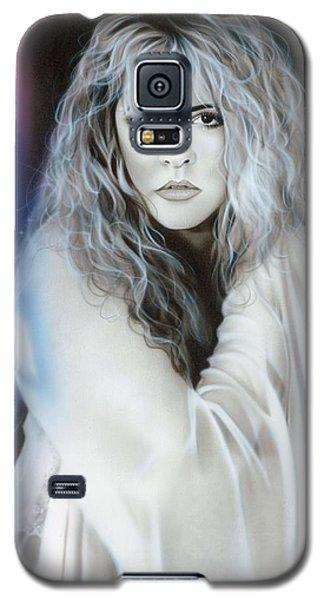 Rhythm And Blues Galaxy S5 Case - Stevie Nicks by Christian Chapman Art