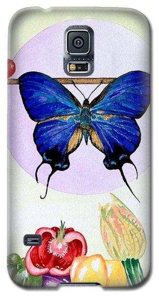 Still Life With Moth #2 Galaxy S5 Case