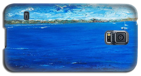 Galaxy S5 Case featuring the painting Storm A Comin by Conor Murphy