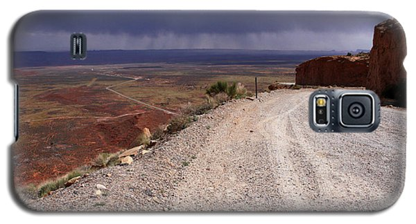 Storm Over The Desert Galaxy S5 Case by Butch Lombardi