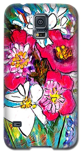 Summer Blooms Galaxy S5 Case