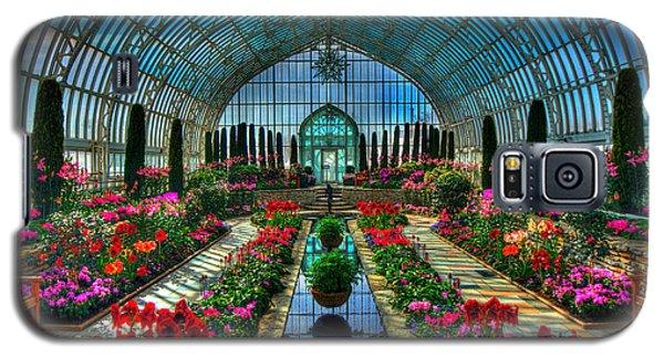 Sunken Garden Como Conservatory Galaxy S5 Case by Amanda Stadther