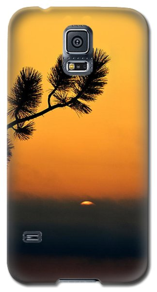Galaxy S5 Case featuring the photograph Sunset At Yosemite by Rima Biswas