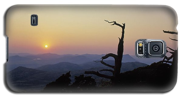 Sunset From Mt Scott Galaxy S5 Case