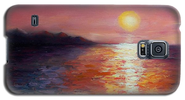 Sunset In Ixtapa Galaxy S5 Case
