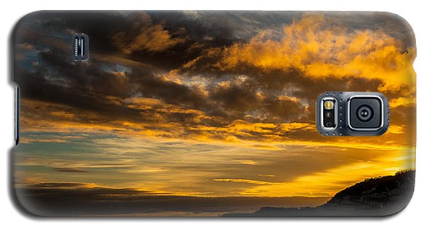 Sunset Over The Ocean  Galaxy S5 Case