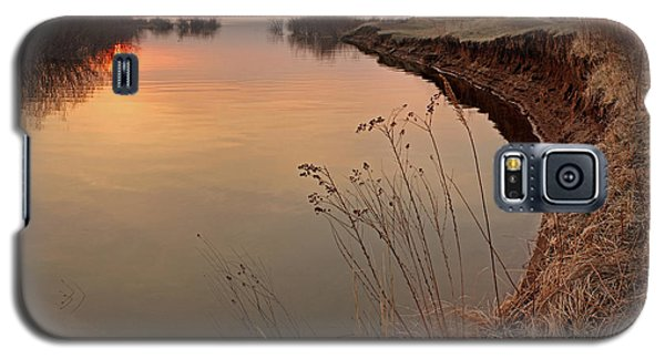 Sunset  River Panorama Galaxy S5 Case