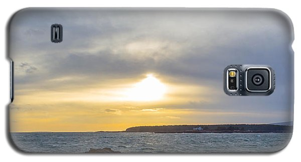 Galaxy S5 Case featuring the photograph Sunset Schoodic Peninsula by Trace Kittrell