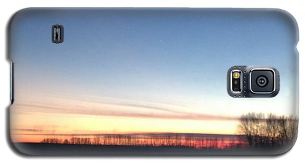 Galaxy S5 Case featuring the photograph Sunset. by Sima Amid Wewetzer