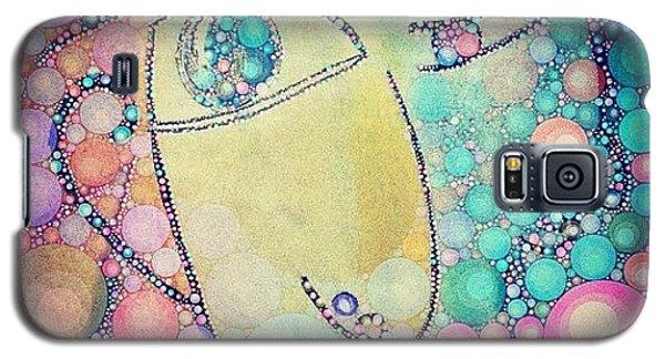 Decorative Galaxy S5 Case - Suspicious  by Lisa Claire Harrison