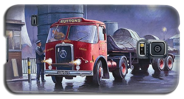 Galaxy S5 Case featuring the painting Suttons Atkinson. by Mike  Jeffries