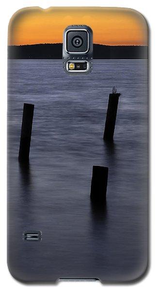 Tacoma Sunset Galaxy S5 Case by Bob Noble Photography