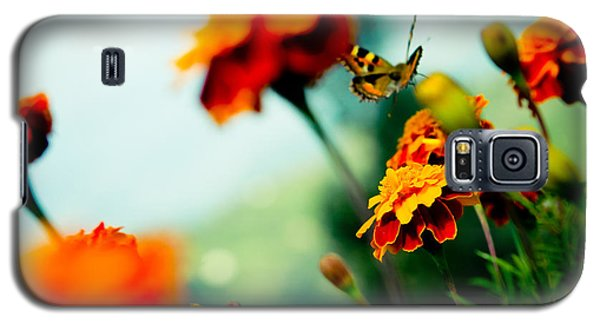 Tagetes And Buterfly Fly Away  Galaxy S5 Case