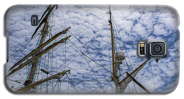Tall Ship Mast Galaxy S5 Case by Dale Powell