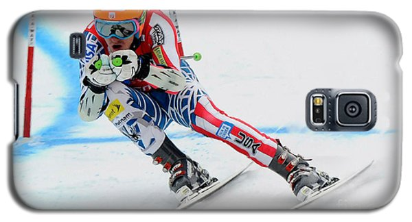 Ted Ligety Skiing  Galaxy S5 Case