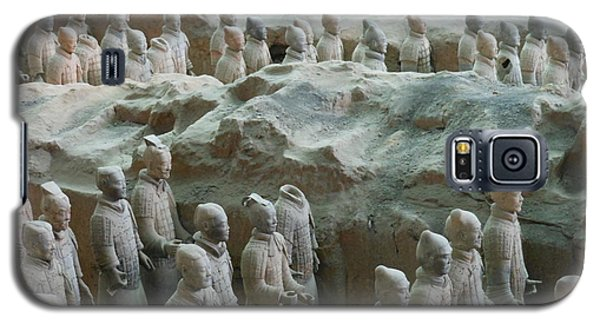 Galaxy S5 Case featuring the photograph Terracotta Army by Kay Gilley