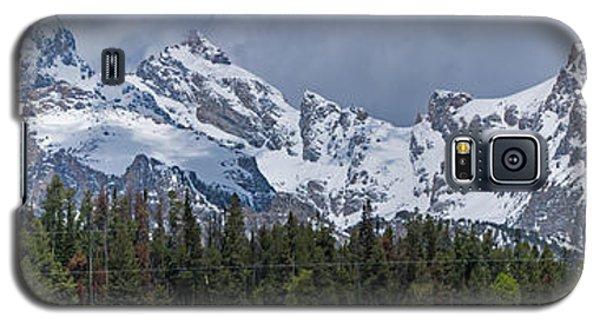 Large Tetons Panorama Galaxy S5 Case