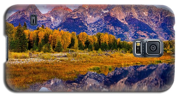 Tetons Reflection Galaxy S5 Case