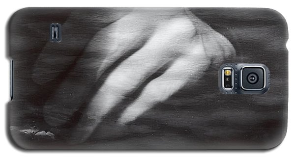 Galaxy S5 Case featuring the photograph The Artists Hand by Karin Thue
