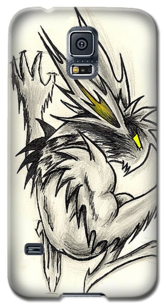 Galaxy S5 Case featuring the drawing The Gargunny by Shawn Dall