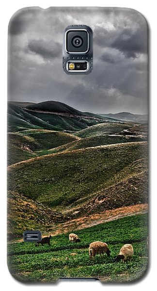 The Lord Is My Shepherd Judean Hills Israel Galaxy S5 Case