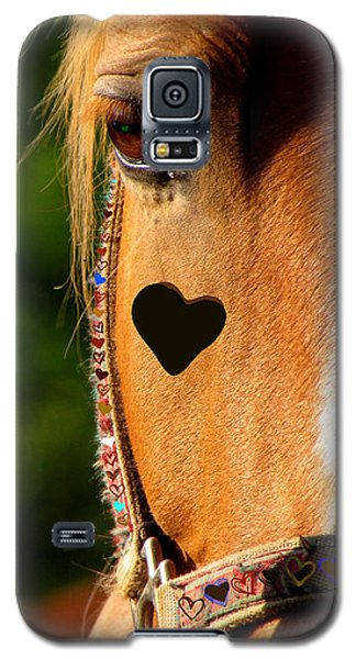 The Love Of A Horse Galaxy S5 Case by France Laliberte
