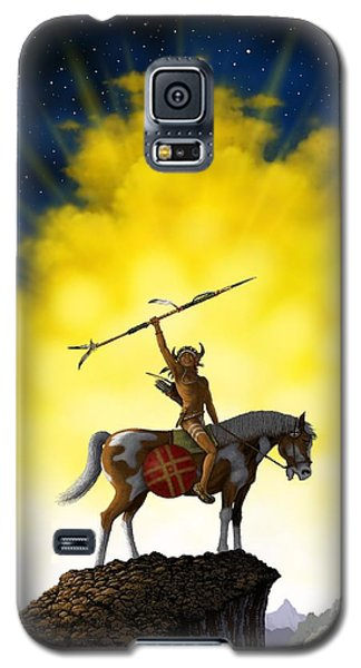 Galaxy S5 Case featuring the digital art The Signal by Scott Ross