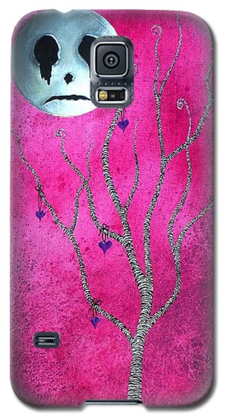 Galaxy S5 Case featuring the painting The Zebra Effect 3 by Oddball Art Co by Lizzy Love