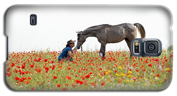 Three At The Poppies' Field... 4 Galaxy S5 Case