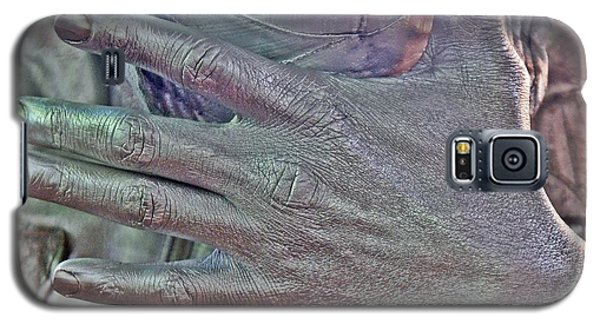 Galaxy S5 Case featuring the photograph Tin Man Hand by Lilliana Mendez