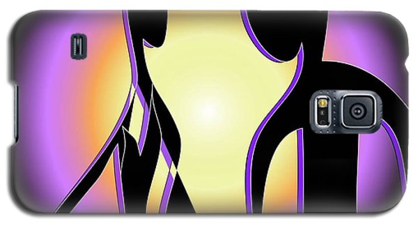 Galaxy S5 Case featuring the digital art Together Forever by Iris Gelbart