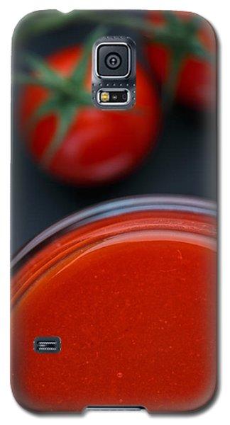 Tomato Galaxy S5 Case - Tomato Juice by Nailia Schwarz